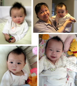 This is a girl who was born in eastern China with spina bifida and a club foot. China Care was able to provide her with surgeries for both conditions. Three and a half months after her spina bifida operation, XiaLi was strong and healthy enough to return to her home province.
