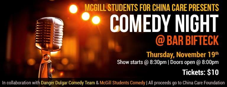 [[MSCC PRESENTS]] Comedy Night in collaboration with COMEDY NIGHT in collaboration with Danger Dulgar Comedy and McGill Students Comedy.